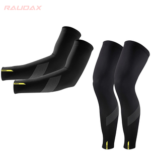 20201 MAVIC Cosmic Leg Warmers Black UV Protection Cycling Arm Warmer Breathable Bicycle Running Racing MTB Bike Leg Sleeve