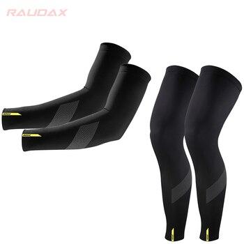 MAVIC Calentadores de piernas para ciclismo, protección UV, transpirable, color negro, 20201 Guantes de ciclismo    -