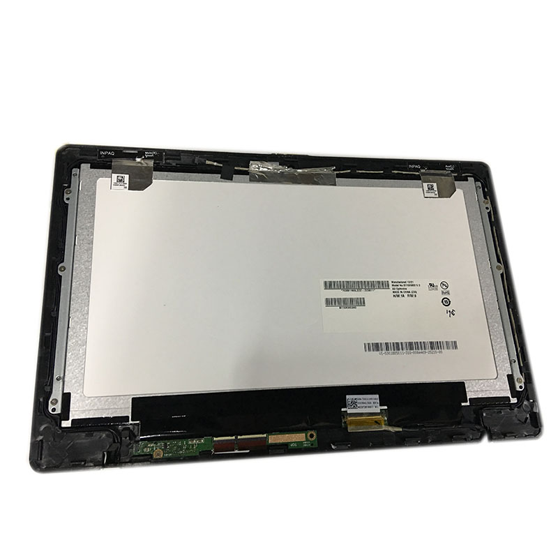 For <font><b>Asus</b></font> Vivobook X200MA <font><b>X200CA</b></font> B116XW03 LCD LED Screen Touch Screen Digitizer Assembly Glass with BLACK Frame image