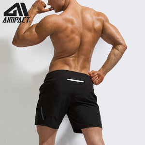 Image 4 - AIMPACT Mens Summer Fitness Shorts Mens Jogger Casual Knee Length Liner Shorts Bodybuilding Quick Dry Workout Beach Sportwears