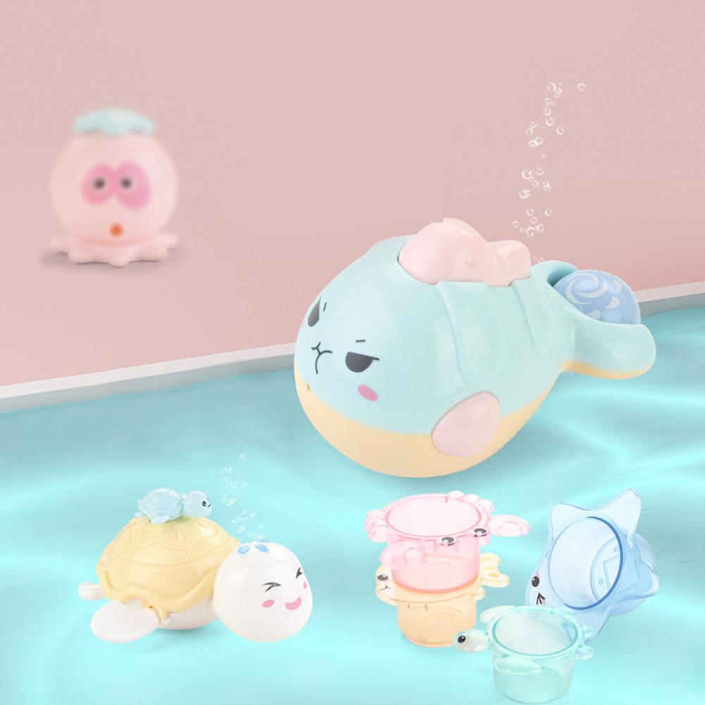 Water Game Toy Kid Children Cute Floating Bathroom Toy Baby Bath Toys Funny Play Water Toys Kit