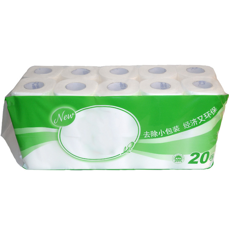 20 rolls 2 Ply Toilet Tissue Soft Quilted Paper Home Washroom Roll Paper For Household Bathroom Sanitary Supplies