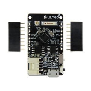 Image 4 - LILYGO®TTGO T OI ESP8266 Chip recargable 16340 soporte de batería y T OI WS2812 RGB placa de expansión