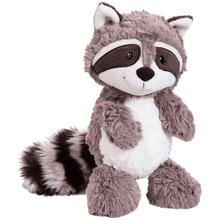 цены на Grey raccoon plush toy cute raccoon cute soft stuffed animal doll pillow girl child baby baby birthday gift 25cm  в интернет-магазинах