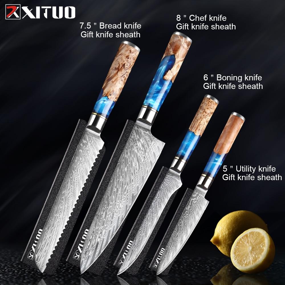 4pcs knives