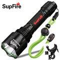 Светодиодный фонарик SupFire T10 CREE T6  10 Вт  900lm  водонепроницаемый  с аккумулятором 18650
