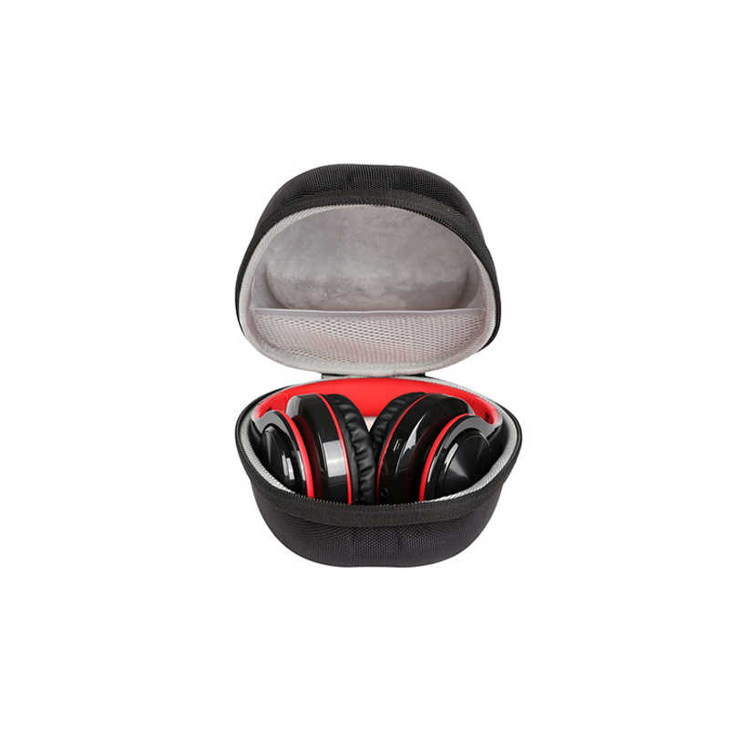 2019 New Earphone Box Black Headset Portable Package Bag EVA Headphone Case Shockproof and Compression resistance Handsfree Bag
