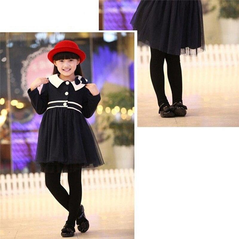 Детские леггинсы ярких цветов для девочек бархатные штаны для маленьких девочек однотонные брюки с высокой талией теплые бархатные