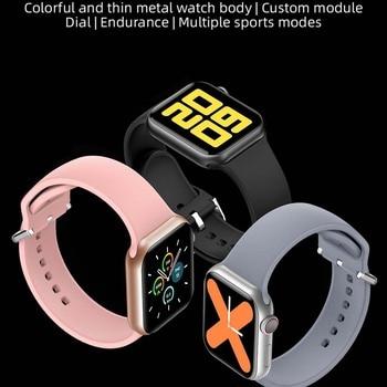 LEMFO Iwo mini PK DT100 PLUS W37 Smart Watch Men Women IP68 Waterproof Health Monitoring H13B Smartwatch 2021 For Apple Iwo W26 5