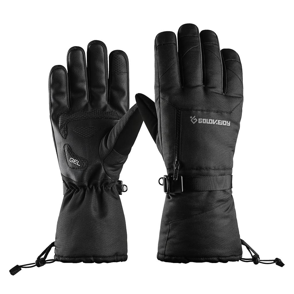 Ski Gloves Waterproof Winter Warm Gloves Touch Screen Multifunctional Snow Gloves For Unisex Men Women - Select Sizes