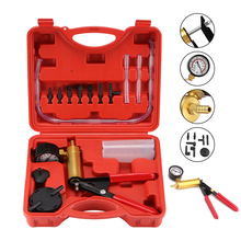 High Quality Hand Held Brake Bleeder Tester Set Vacuum Pump Car Motorbike Self Vacuum Pump Kits Brake Bleeder Screw Adapter