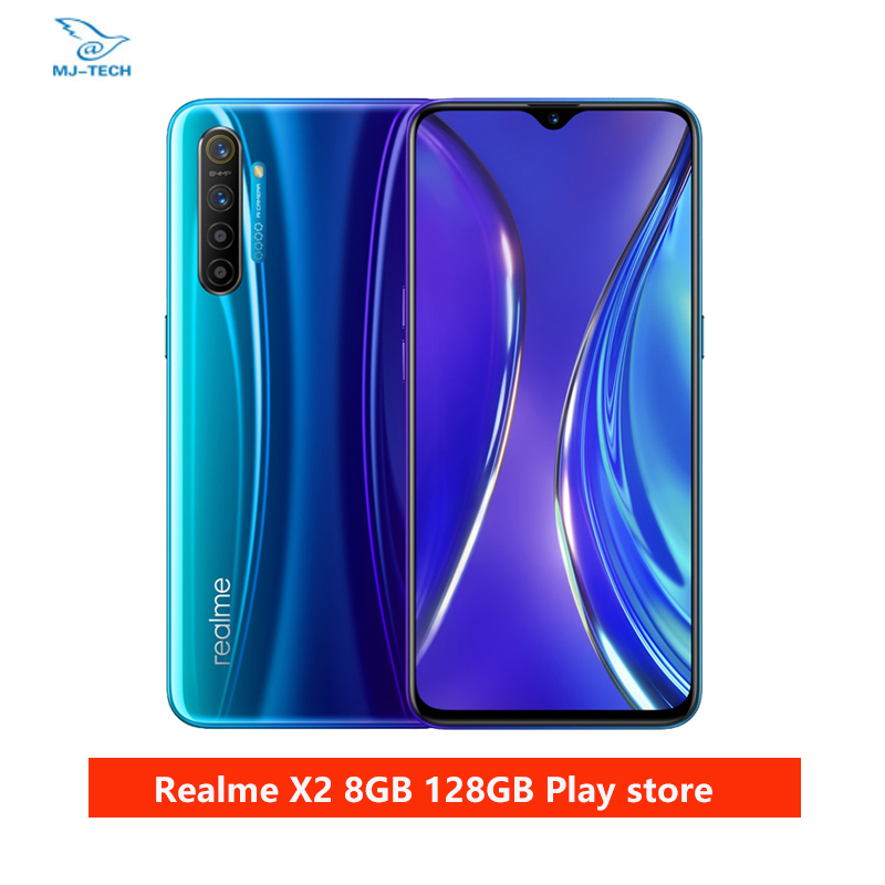 realme X2 8G 128G Snapdragon 730G 64MP Camera 6.4'' Full Screen NFC OPPO Cellphone VOOC 30W Fast Charger Moblie Phone Cellphones  - AliExpress