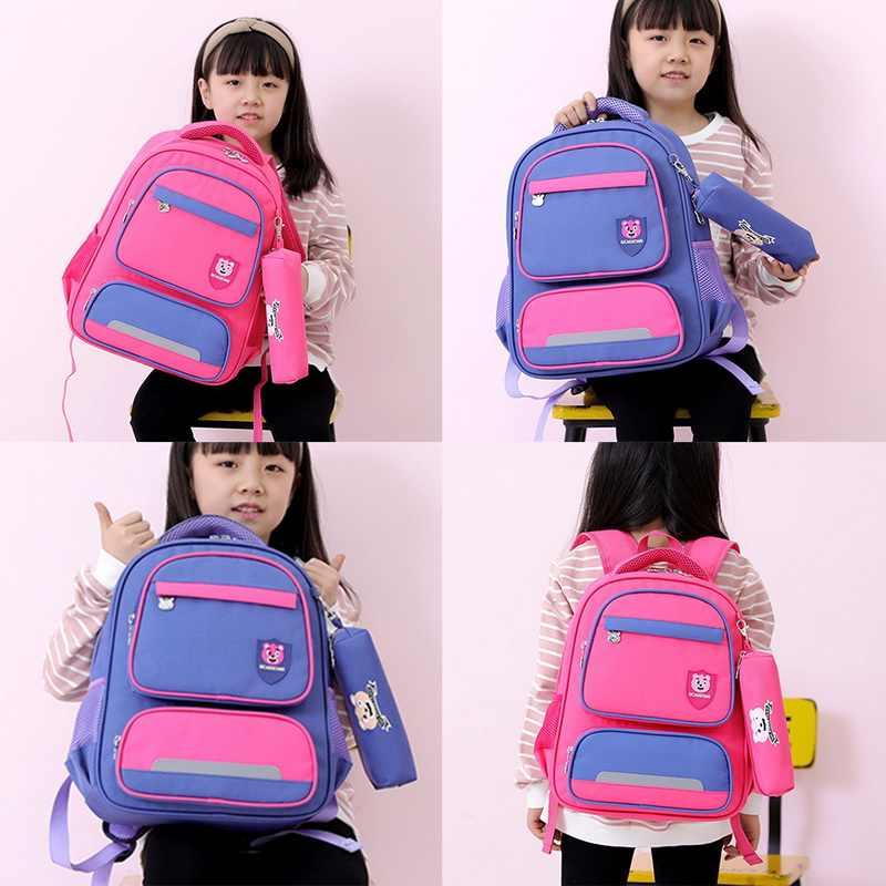 2019 водонепроницаемые детские школьные ранцы для мальчиков и девочек, Детский рюкзак, школьный рюкзак, большая сумка для путешествий, сумка для детей, Mochila