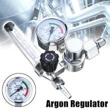 Сварочный газовый счетчик аргон CO2 регулятор потока давления MIG MAG сварочный манометр аргоновый Регулятор Редуктор давления