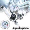 Saldatura A Gas Metro Argon CO2 di Pressione Regolatore di Flusso MIG MAG Saldatura Calibro di Pressione Regolatore di Argon Riduttore