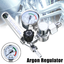 цены Welding Gas Meter Argon CO2  Pressure Flow Regulator MIG MAG Weld Gauge Argon Regulator Pressure Reducer