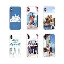 Accessoires Telefoon Gevallen Covers Voor Apple Iphone X Xr Xs 11Pro Max 4S 5S 5C Se 6S 7 8 Plus Ipod Touch 5 6 Mamma Mia(China)