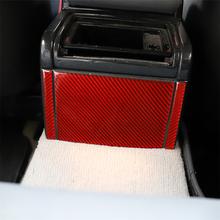 цена на Carbon Fiber Interior Decal Frame Cover Trim for BMW E46 315 318 320 325 330 M3 1998-2005 Rear Seat Roof Air Vent 3pcs Stickers