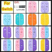 JCD Für Nintendo Schalter NX NS Freude Con Ersatz Gehäuse Shell Abdeckung für NX Joycon Controller Joystick Schutz Fall