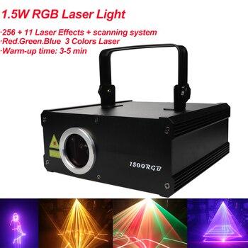 Мини светодиодный RGB домашний сценический светильник ing Effect DMX512 лазерный 256 + 11 лазерный проектор для эффектов Система сканирования диско Dj в...