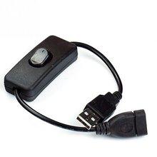 28 см черный usb-кабель для мужчин и женщин с переключателем вкл/выкл кабель удлинитель для USB лампы USB вентилятор линия питания