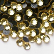 Adhesive Strass-Hotfix Rhinestone Wedding-Dress DIY Crystal Flatback for 1440pcs