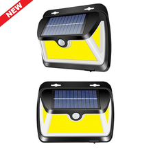 COB 163 LED Solar Light Outdoor Wall Lamp Motion Sensor Waterproof Emergency home Yard Lamp Solar Light Garden decoration