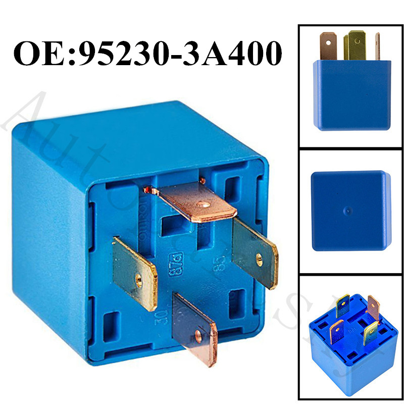 PACK 1X For HYUNDAI KIA//12V//20A MULTIPURPOSE 4 PRONG RELAY//NUMBER 95230-2P020