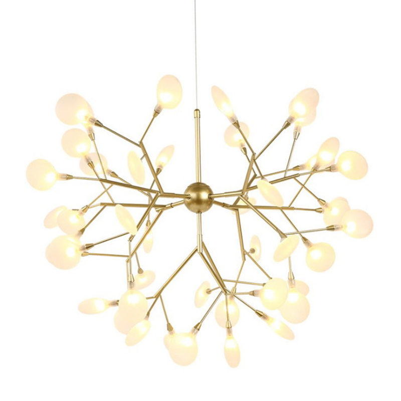 Nordic Design chandelier lighting Industrial Hanging lamp Master Bedroom lustre for Art Shop Tiffany Style lampShades luminaria