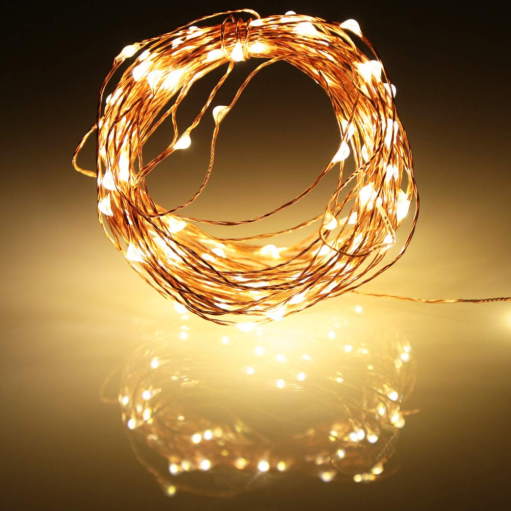 2M 5M 10M AA Battery String Lights Copper Wire LED Lights Decoration Fairy Lights For Birthday Party Garland Wedding