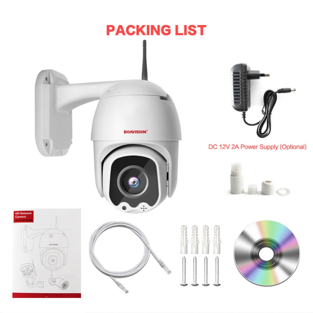 06  Super Mini PTZ Dome WIFI IP Camera