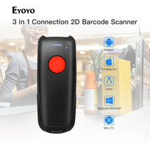 Barcode Scanner Wired 1D QR Bluetooth 2D Eyoyo Mini Portable 3-In-1 CCD EY-004A Ccd-Bar