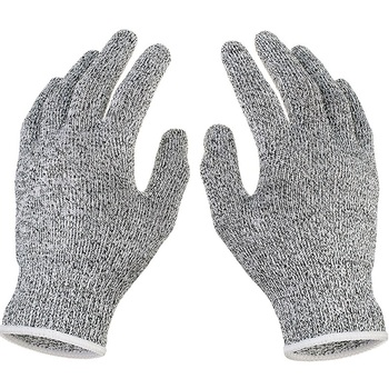 Outdoor Hunting Cut-proof Full Finger Gloves Food Grade 5 Breathable Anti-cutting Manual Cookware Butcher Protection Hand 3
