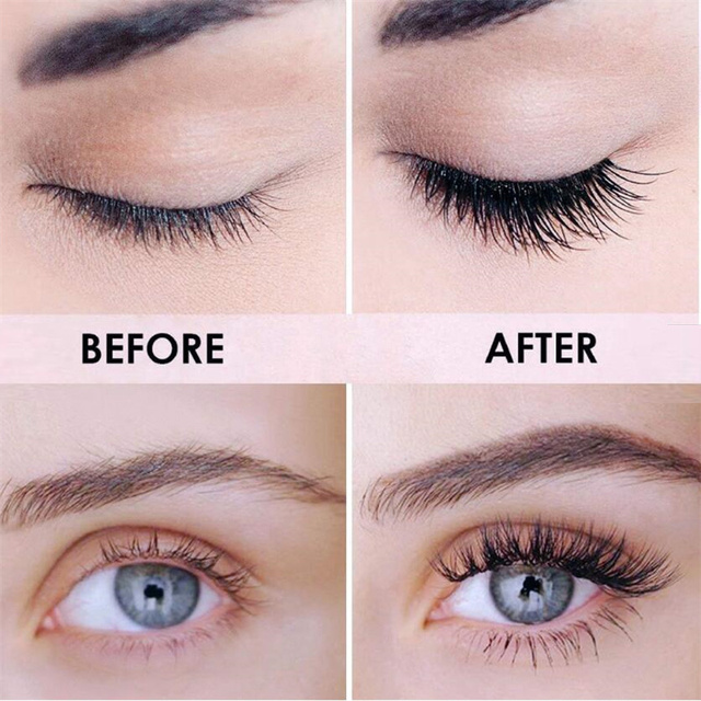 4D Silk Fiber Lashes Mascara Waterproof Mascara for Eyelash Extension Black Thick Lengthening Eye Lashes Makeup Korean Cosmetics 3