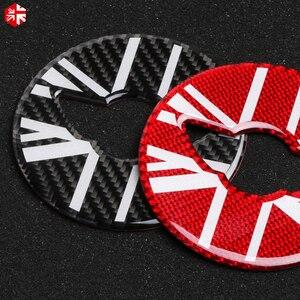 Image 5 - MINI Cooper Countryman için F60 karbon Fiber direksiyon merkezi 3D Sticker çıkartma kapak araba tasarım iç dekorasyon