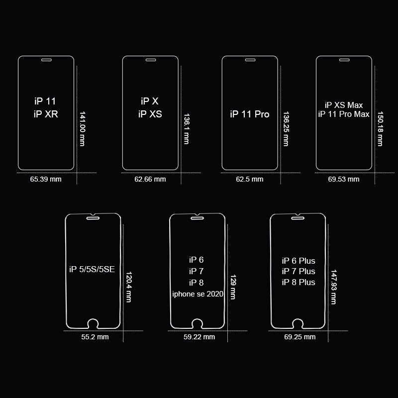 3PCS מלא כיסוי זכוכית על עבור iPhone 11 פרו X XR XS מקס מזג מסך מגן עבור iPhone 7 8 6 6s בתוספת 5 5S SE 11 זכוכית