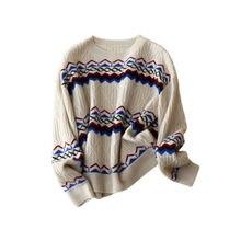 Женский зимний свитер одежда в английском стиле кашемировые