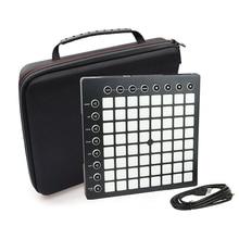 EVA Shockproof Portable Case for Novation Launchpad Ableton Live Controller Travel Carrying Case Storage Bag Handbag