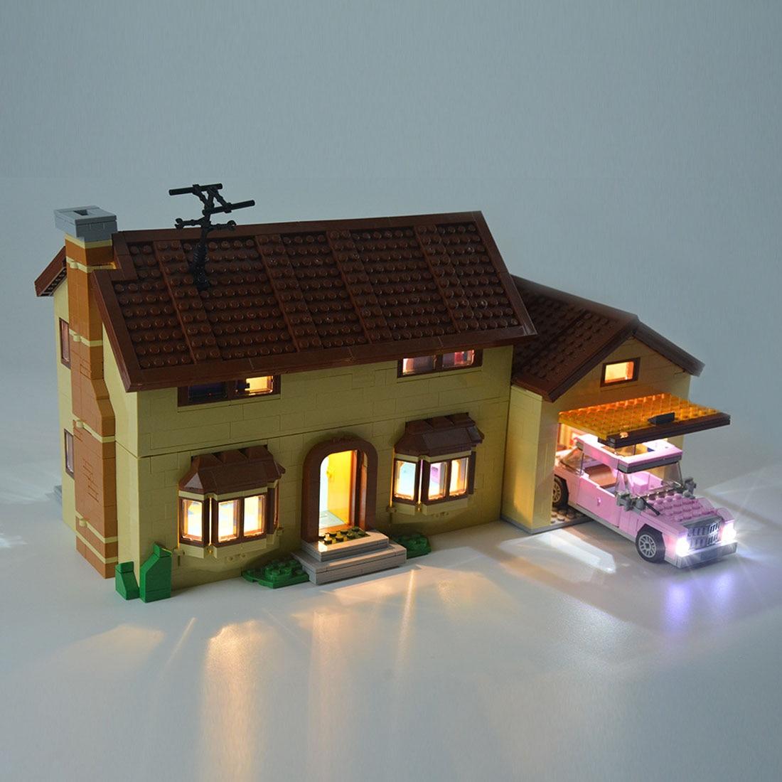 construção usb luz acessório kit para casa 71006 led incluído apenas