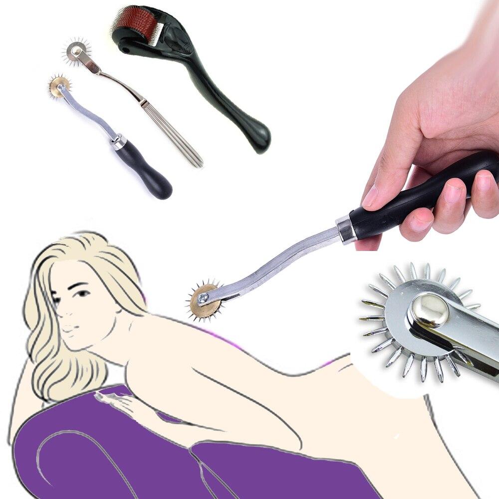 БДСМ зубчатая шестерня массажные инструменты для взрослых секс-игрушки Медицинский Диагностический молоток для тренировки реакции медици...