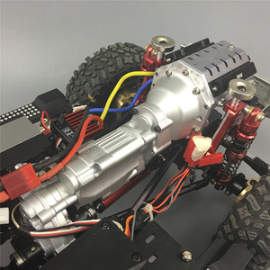 Image 5 - Heavy Duty Metal Two Speed V8 Engine Gearbox for 1/10 Axial SCX10 II 90046 RC Car Parts