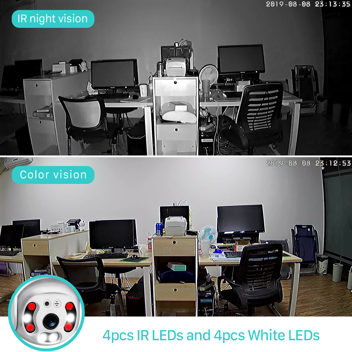 H7d1b63db217a4d70963e9d1275205648F BESDER 1080P Outdoor Speed Dome Wifi Camera 2MP H.265 Audio PTZ Wireless Camera Cloud-SD Slot ONVIF Home Surveillance IP Camera