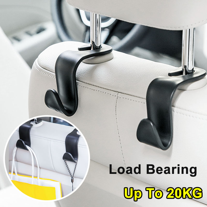 Headrest-Hanger Clips Storage-Hooks Handbag Hanging Car-Seat Universal Auto-Products