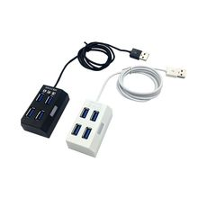 High Speed 4 Ports Multiple USB 2.0 Hub USB Splitter Adapter For PC Computer Laptop Tablet Accessories