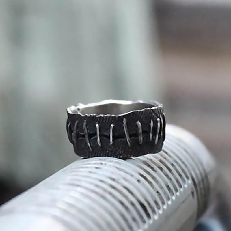 EYHIMD старинные винтажные рандомные фрэнкенштейн телесное кольцо обручальные кольца мужские байкерские ювелирные изделия