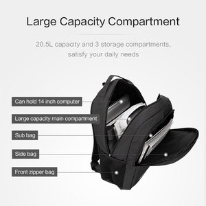 Image 5 - Oiwas водонепроницаемый большой мужской рюкзак, сумки для ноутбука, студенческий рюкзак для подростков, рюкзак для путешествий, школьный рюкзак для мужчин и женщин, мужской рюкзак