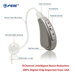 Image 1 - Open Ear RIC Hearing Aid for Hearing loss MY 18S 8 channel digital ear machine 2019 New arrival medical equipment free shipping
