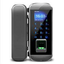 Door-Lock Biometric Fingerprint Ce for Home Office Apartment Glass Door-Iglass100plus