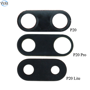 YuXi New Rear Back Camera Glass Lens Protector Cover For HUAWEI Ascend P20 Lite P20 Pro Repair Parts image