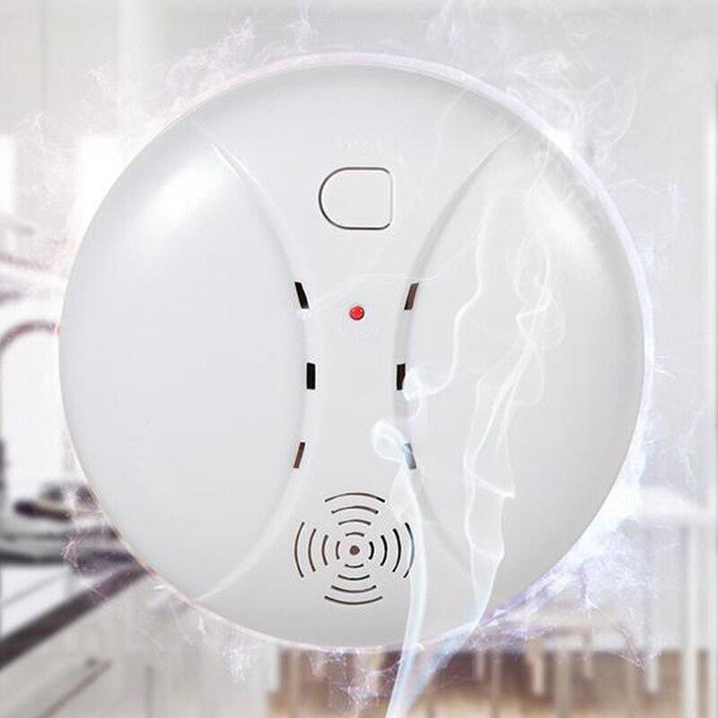 Беспроводная противопожарная защита дыма для обнаружения портативных датчиков сигнализации домашняя система охранной сигнализации